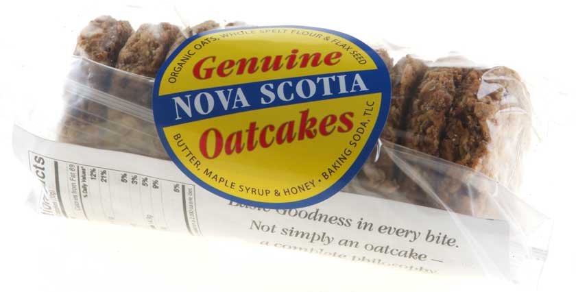 Genuine Nova Scotia Oatcakes